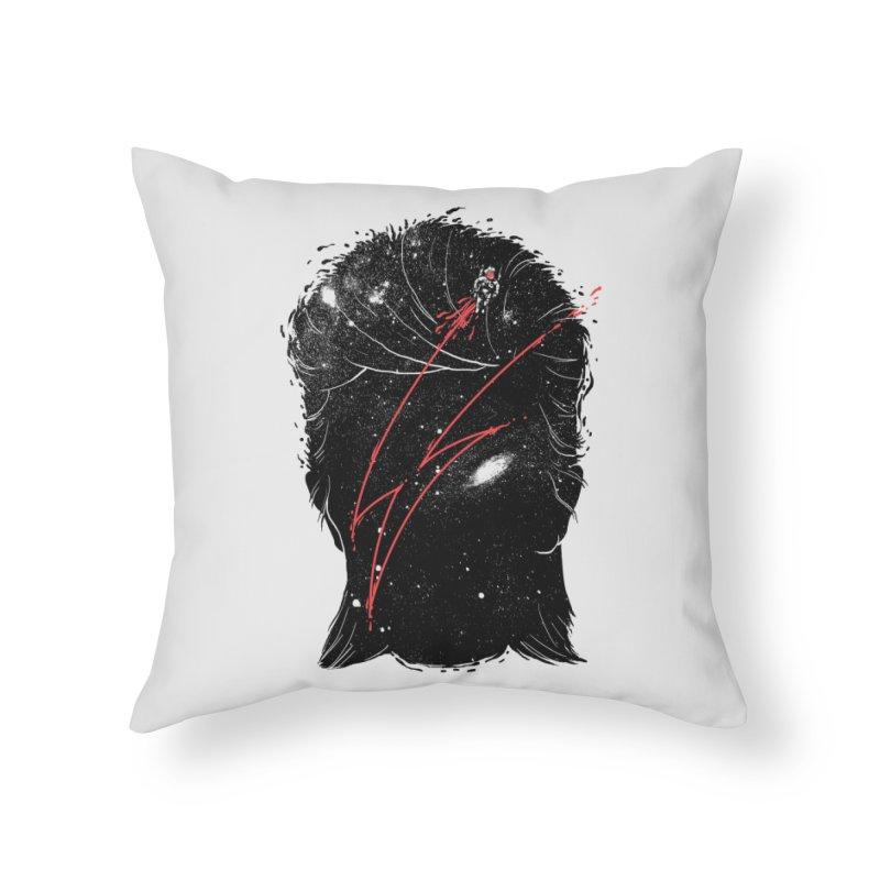 Starman Home Throw Pillow by marcelocamacho's Artist Shop