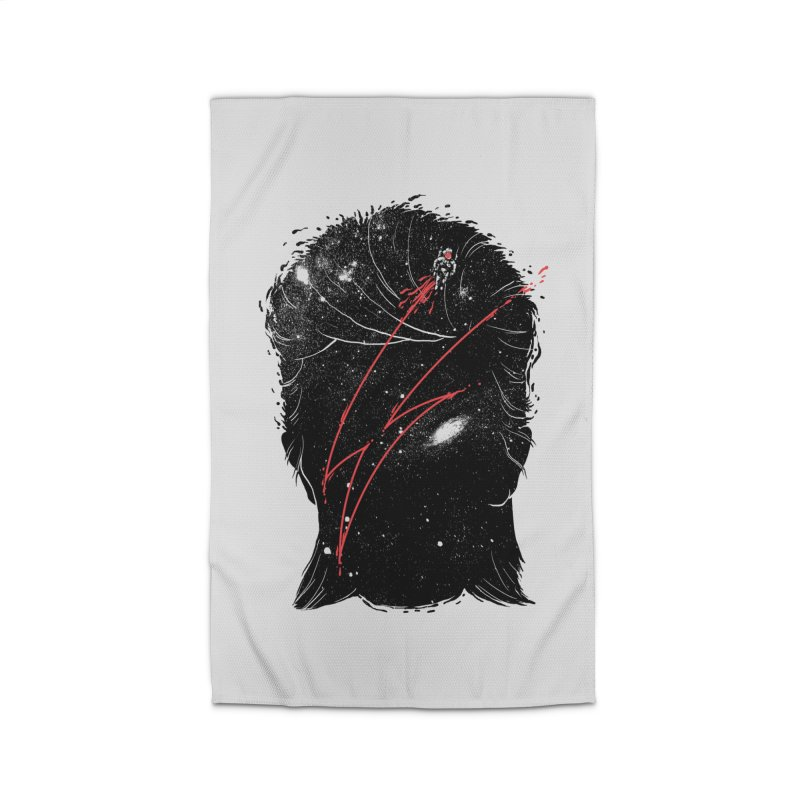 Starman Home Rug by marcelocamacho's Artist Shop