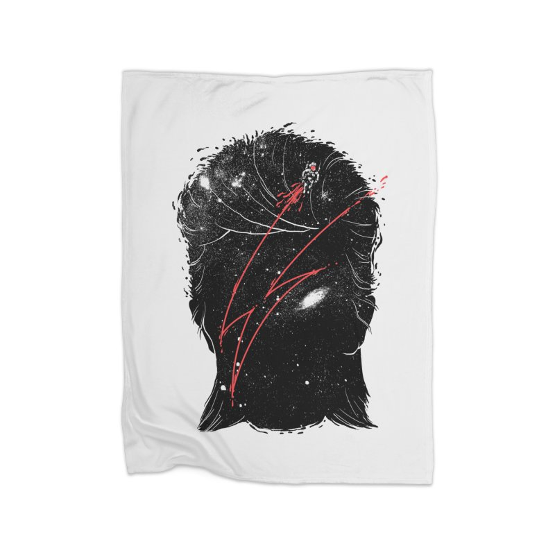 Starman Home Fleece Blanket Blanket by marcelocamacho's Artist Shop