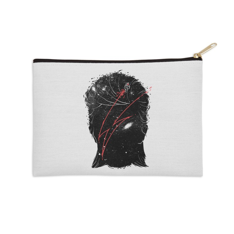 Starman Accessories Zip Pouch by marcelocamacho's Artist Shop