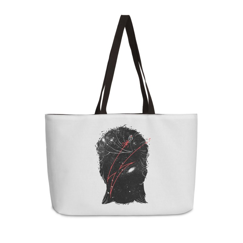 Starman Accessories Weekender Bag Bag by marcelocamacho's Artist Shop