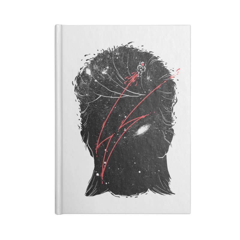 Starman Accessories Lined Journal Notebook by marcelocamacho's Artist Shop