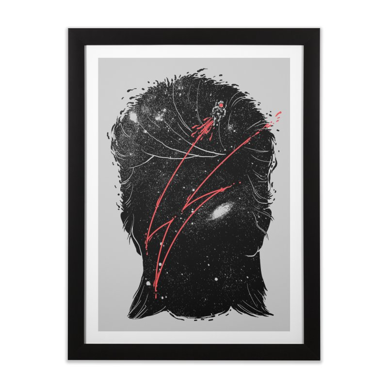 Starman Home Framed Fine Art Print by marcelocamacho's Artist Shop