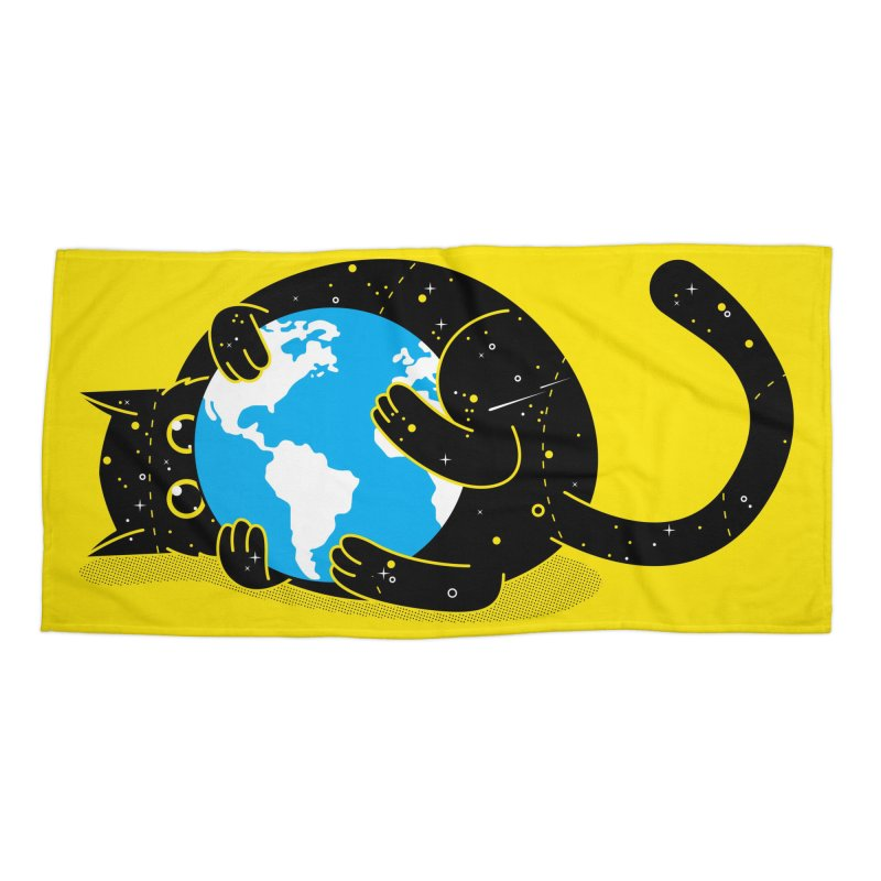 Playing with universe Accessories Beach Towel by marcelocamacho's Artist Shop