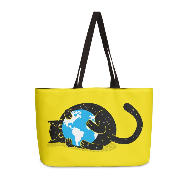 Playing with universe Accessories Weekender Bag Bag by marcelocamacho's Artist Shop