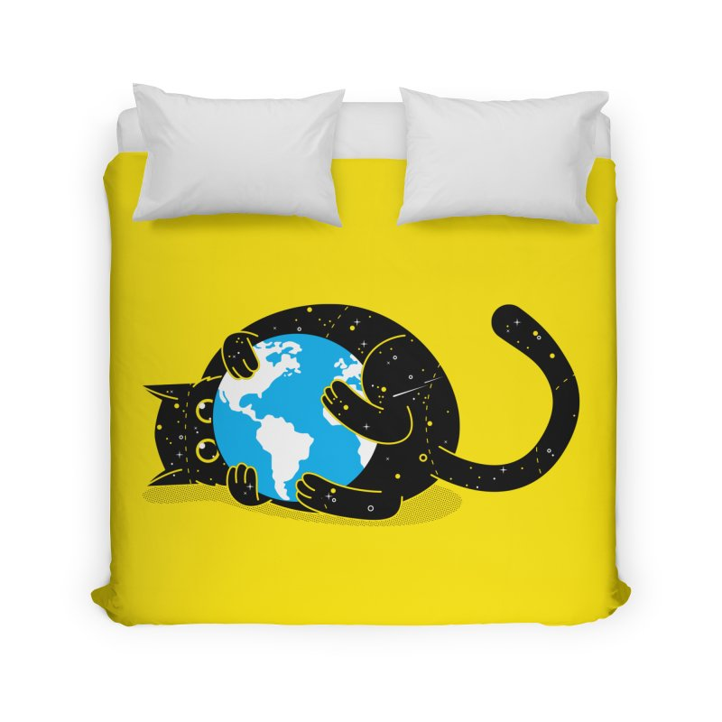 Playing with universe Home Duvet by marcelocamacho's Artist Shop