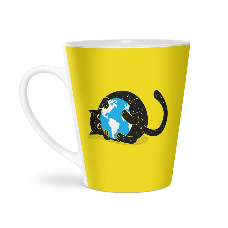 Playing with universe Accessories Latte Mug by marcelocamacho's Artist Shop