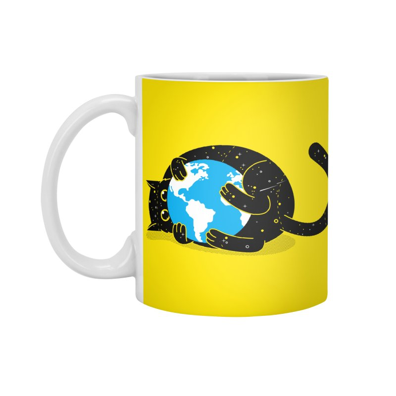 Playing with universe Accessories Standard Mug by marcelocamacho's Artist Shop