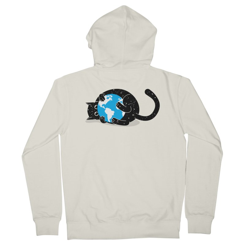 Playing with universe Women's French Terry Zip-Up Hoody by marcelocamacho's Artist Shop