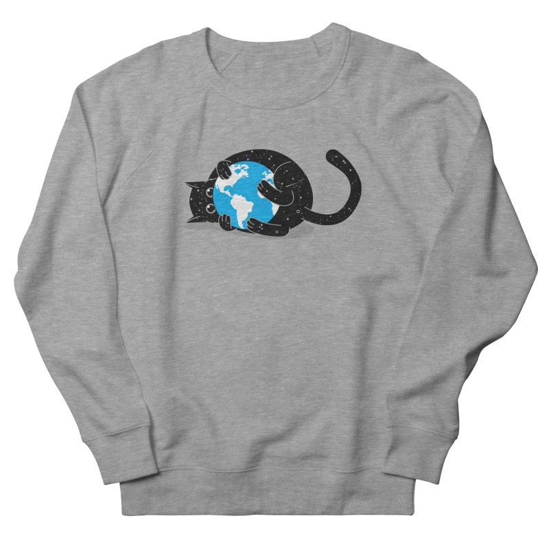 Playing with universe Women's French Terry Sweatshirt by marcelocamacho's Artist Shop