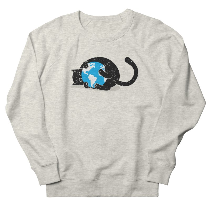 Playing with universe Men's French Terry Sweatshirt by marcelocamacho's Artist Shop
