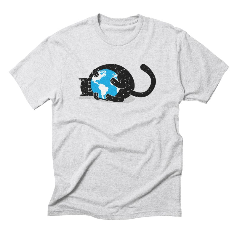 Playing with universe Men's Triblend T-shirt by marcelocamacho's Artist Shop