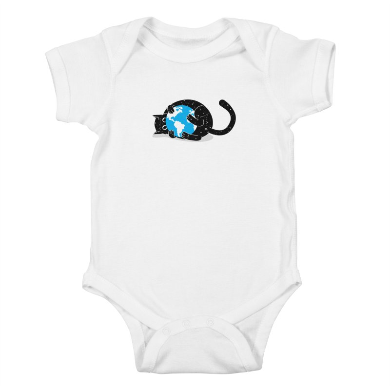 Playing with universe Kids Baby Bodysuit by marcelocamacho's Artist Shop