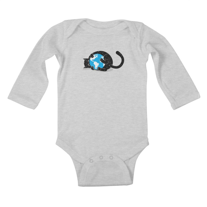 Playing with universe Kids Baby Longsleeve Bodysuit by marcelocamacho's Artist Shop