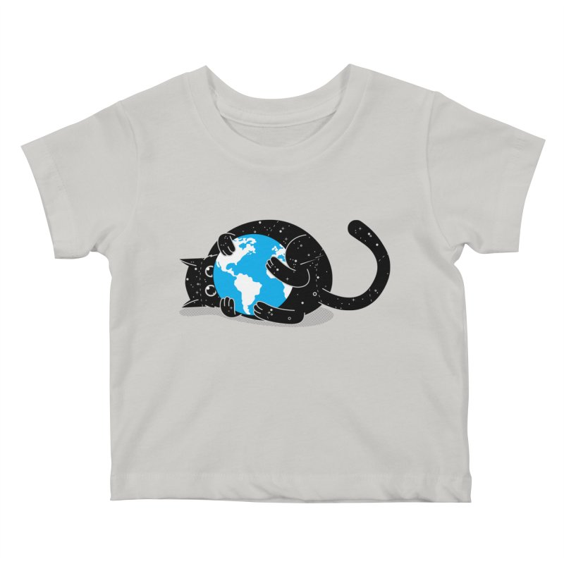 Playing with universe Kids Baby T-Shirt by marcelocamacho's Artist Shop