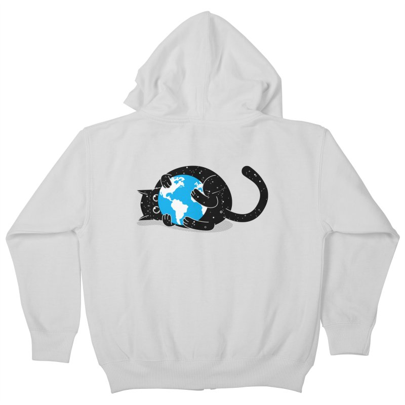 Playing with universe Kids Zip-Up Hoody by marcelocamacho's Artist Shop