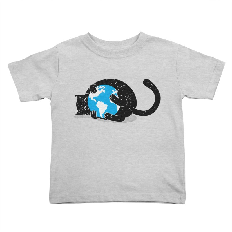 Playing with universe Kids Toddler T-Shirt by marcelocamacho's Artist Shop