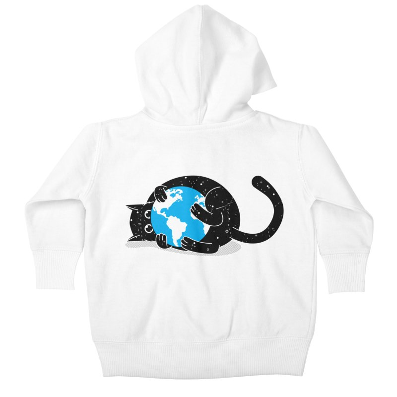 Playing with universe Kids Baby Zip-Up Hoody by marcelocamacho's Artist Shop