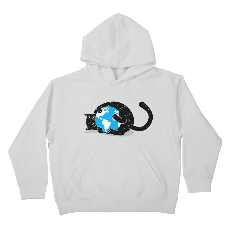 Playing with universe Kids Pullover Hoody by marcelocamacho's Artist Shop