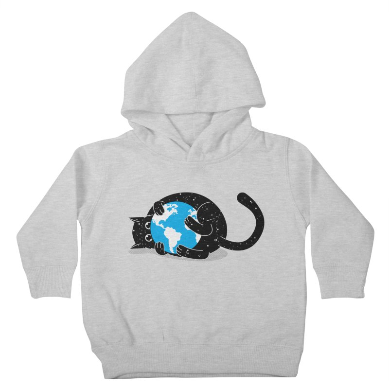 Playing with universe Kids Toddler Pullover Hoody by marcelocamacho's Artist Shop