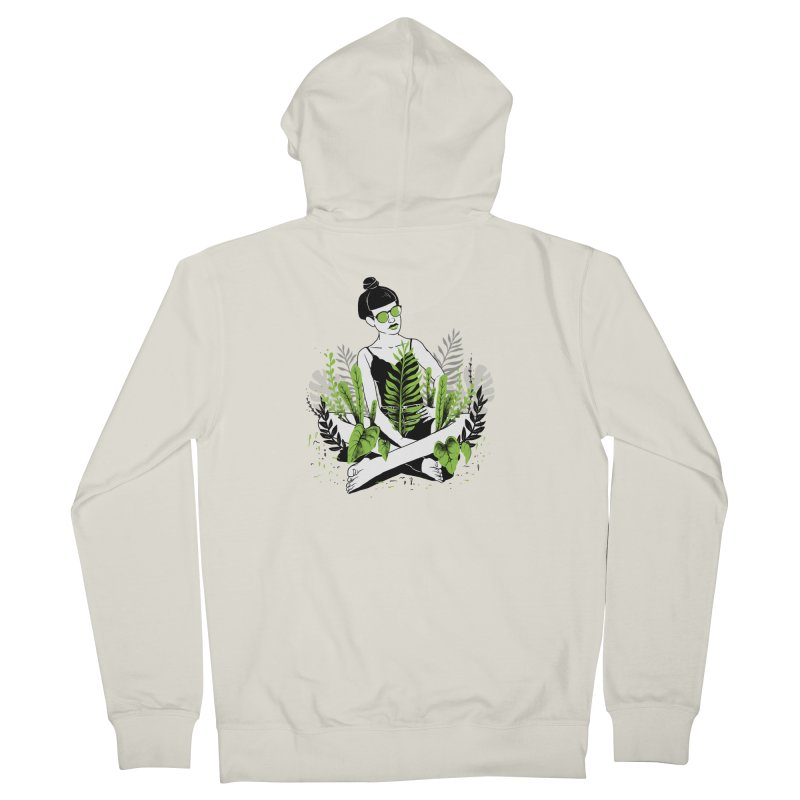 Beauty of nature Women's French Terry Zip-Up Hoody by marcelocamacho's Artist Shop