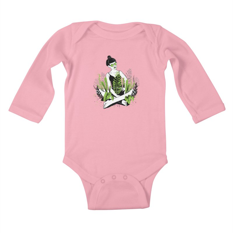 Beauty of nature Kids Baby Longsleeve Bodysuit by marcelocamacho's Artist Shop