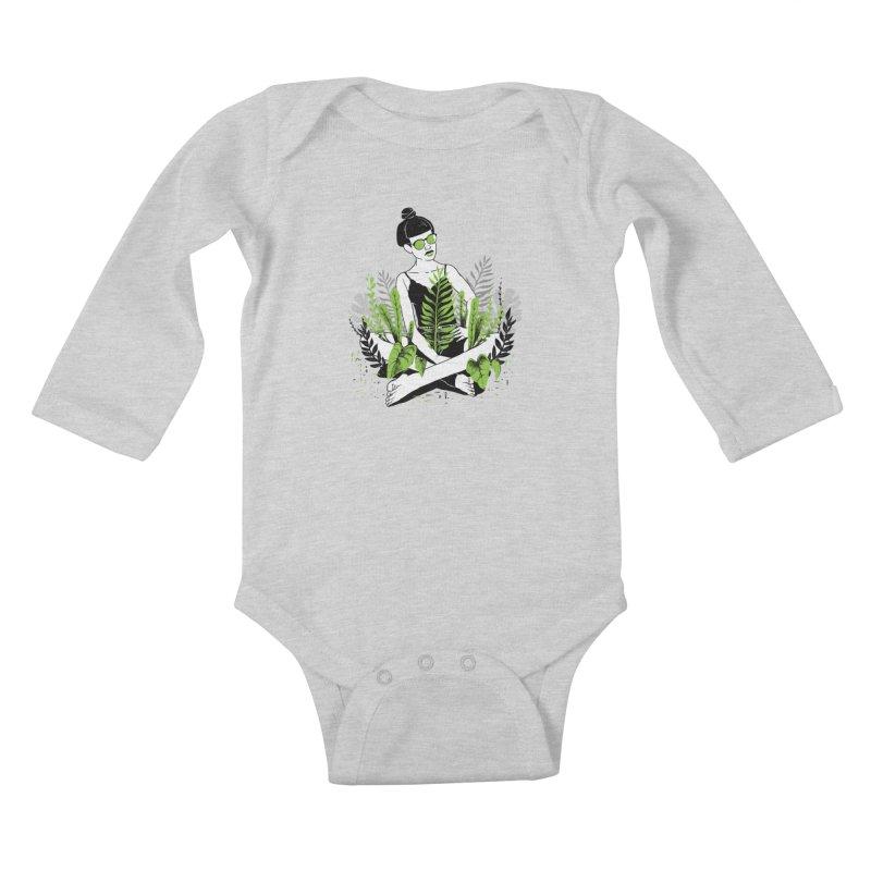Beauty of nature Kids Baby Longsleeve Bodysuit by marcelocamacho's Artist Shop