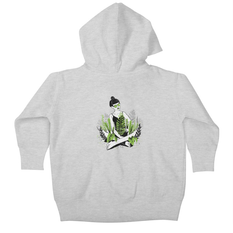 Beauty of nature Kids Baby Zip-Up Hoody by marcelocamacho's Artist Shop