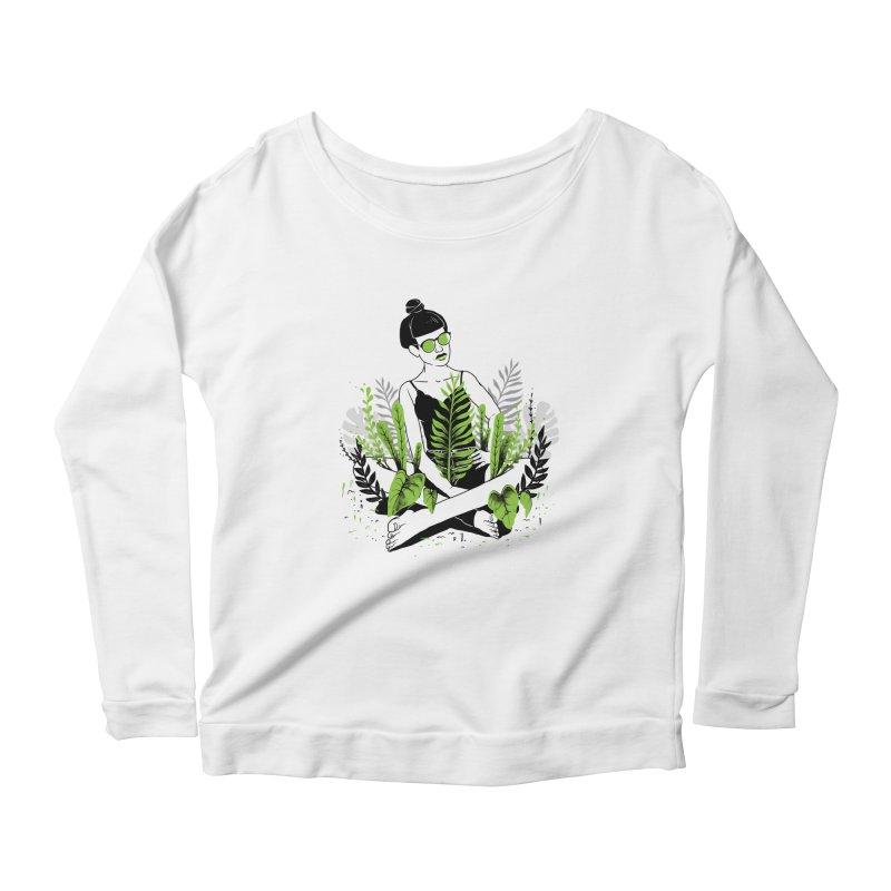 Beauty of nature Women's Scoop Neck Longsleeve T-Shirt by marcelocamacho's Artist Shop