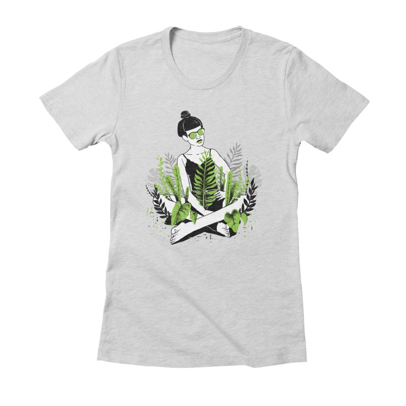 Beauty of nature Women's Fitted T-Shirt by marcelocamacho's Artist Shop