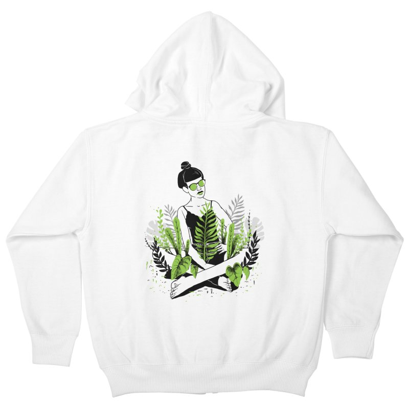 Beauty of nature Kids Zip-Up Hoody by marcelocamacho's Artist Shop