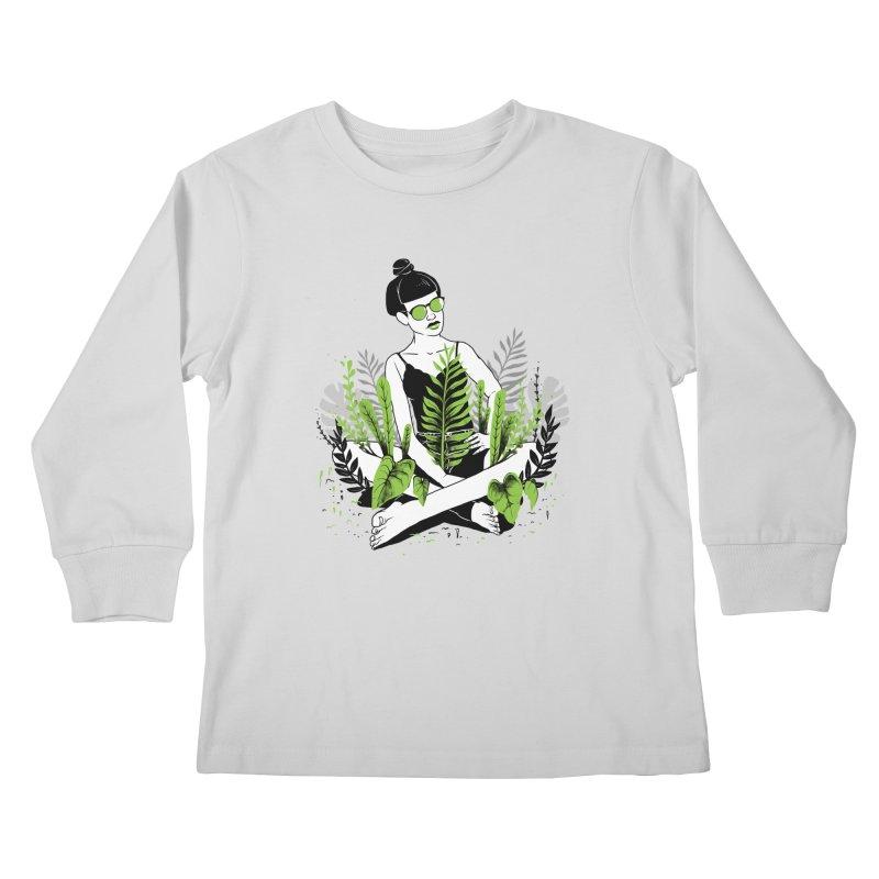 Beauty of nature Kids Longsleeve T-Shirt by marcelocamacho's Artist Shop