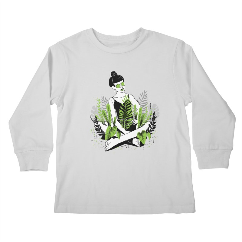 Beauty of nature Kids Longsleeve T-Shirt by marcelocamacho's Artist Shop