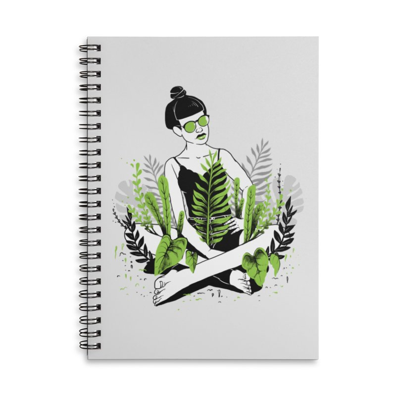 Beauty of nature Accessories Lined Spiral Notebook by marcelocamacho's Artist Shop