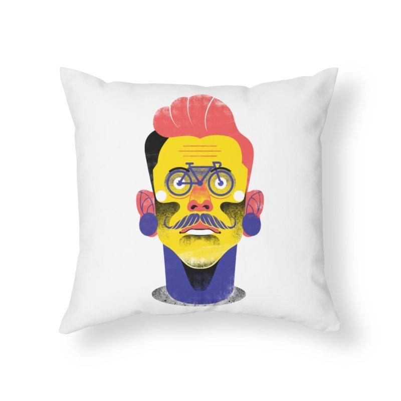 See through bike Home Throw Pillow by marcelocamacho's Artist Shop