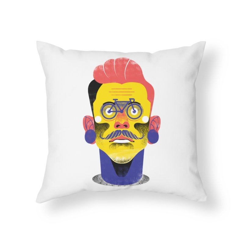 See through bike Home Throw Pillow by marcelocamacho's Artist Shop