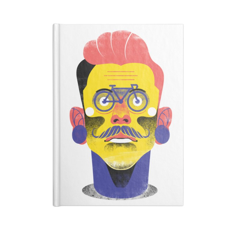 See through bike Accessories Notebook by marcelocamacho's Artist Shop
