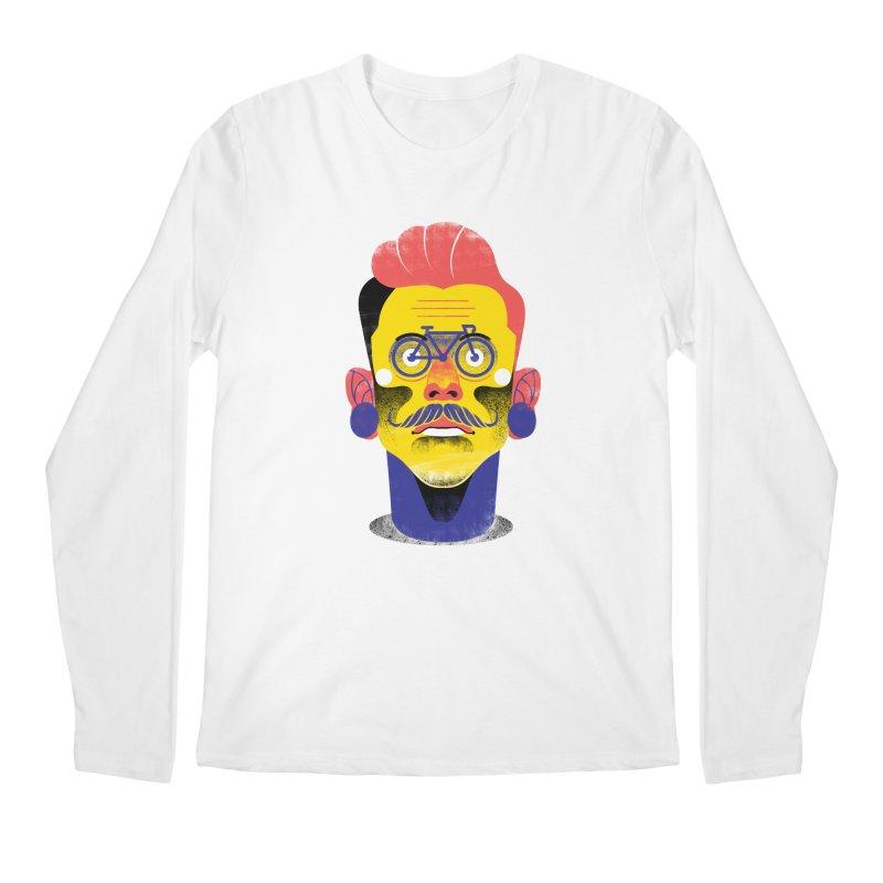 See through bike Men's Regular Longsleeve T-Shirt by marcelocamacho's Artist Shop