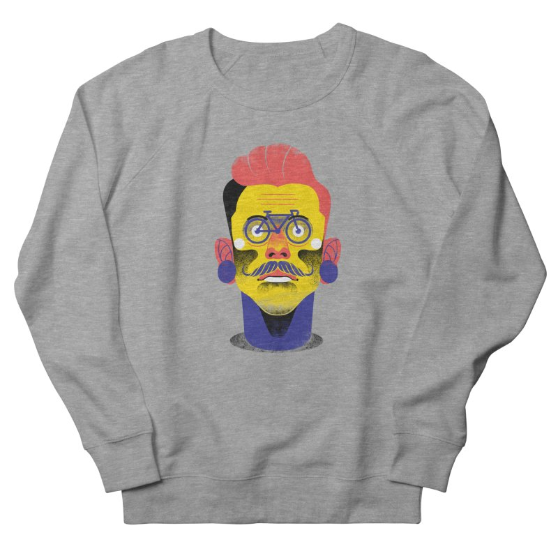 See through bike Men's French Terry Sweatshirt by marcelocamacho's Artist Shop