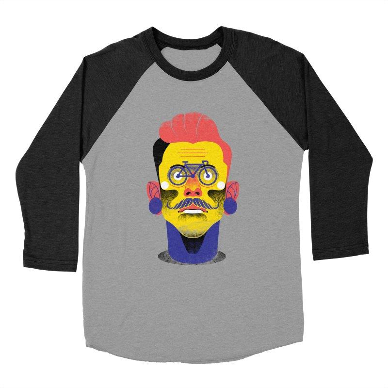 See through bike Women's Baseball Triblend T-Shirt by marcelocamacho's Artist Shop