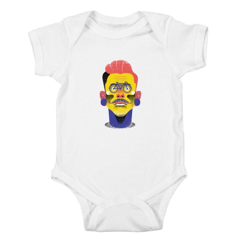 See through bike Kids Baby Bodysuit by marcelocamacho's Artist Shop