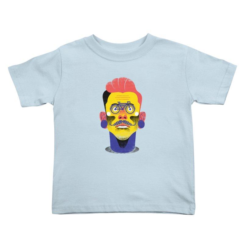 See through bike Kids Toddler T-Shirt by marcelocamacho's Artist Shop