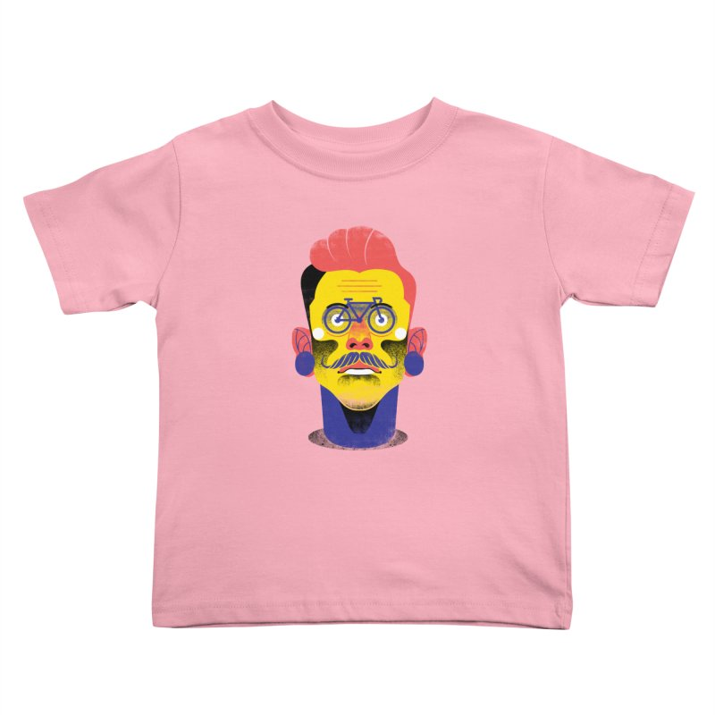 See through bike Kids Toddler T-Shirt by marcelocamacho's Artist Shop