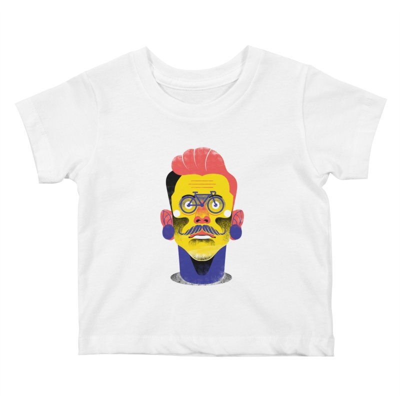 See through bike Kids Baby T-Shirt by marcelocamacho's Artist Shop