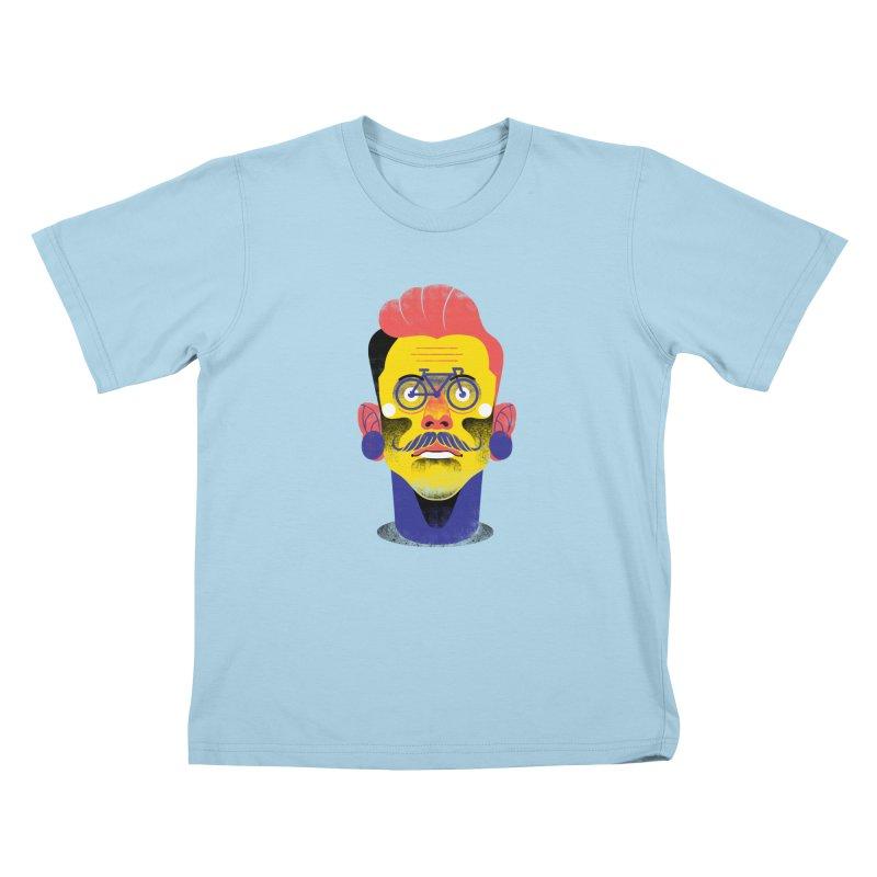 See through bike Kids T-Shirt by marcelocamacho's Artist Shop