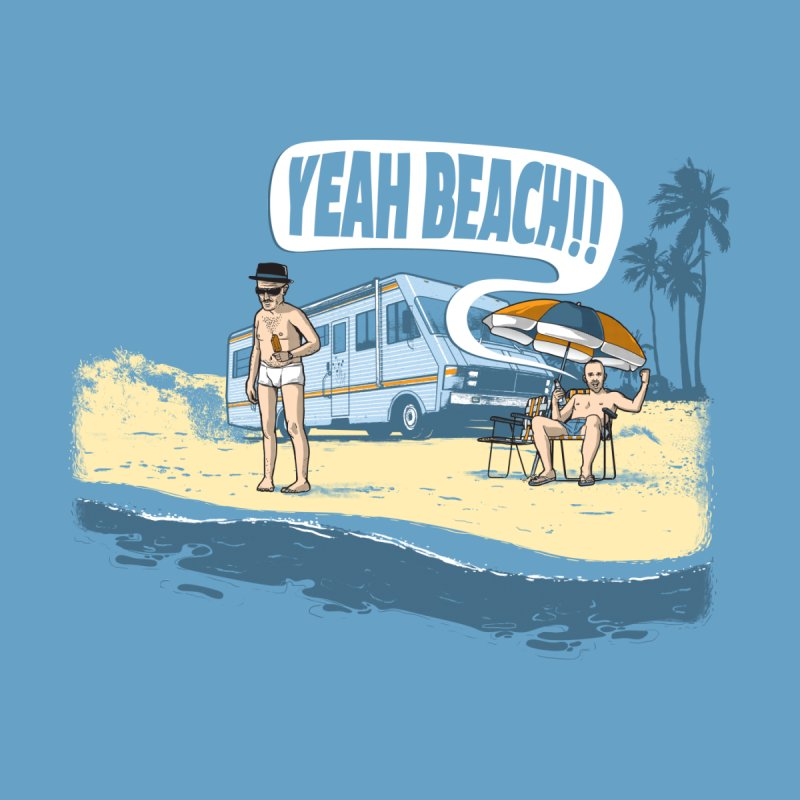 Yeah beach! by marcelocamacho's Artist Shop
