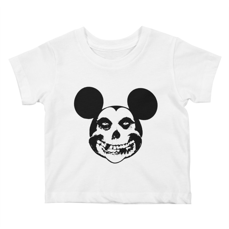 Punkey mouse Kids Baby T-Shirt by marcelocamacho's Artist Shop