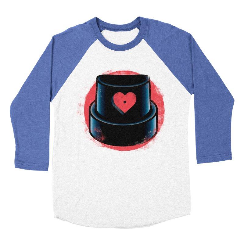 Graffiti love Women's Baseball Triblend Longsleeve T-Shirt by marcelocamacho's Artist Shop