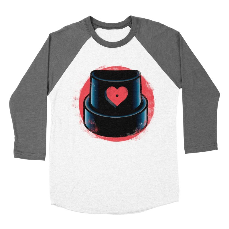 Graffiti love Men's Baseball Triblend Longsleeve T-Shirt by marcelocamacho's Artist Shop