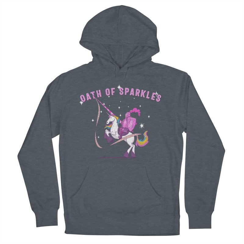 The Oath of Sparkles Women's French Terry Pullover Hoody by March1Studios on Threadless